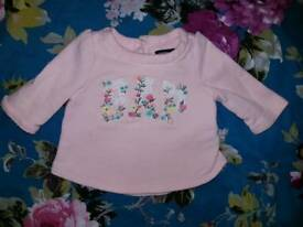 Baby GAP girls jumper. Size 0-3 months