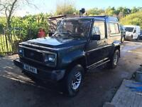 Daihatsu fourtrak 2.8 td spares