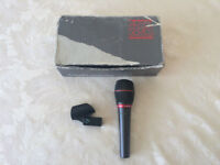 Rare Audio Technica ATM61HE Hypercardioid Dynamic Microphone (better than Shure SM58)