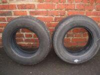 caravan/trailer tyres