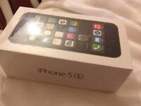 APPLE IPHONE 5S 64GB SPACE GREY SMARTPHONE ON THREE 3 BRAND NEW SEALED.