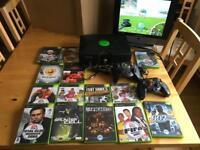 XBox Original + 14 Games+ 2 Controllers