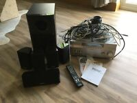 Sony surround sound system and Onkyo speakers