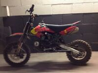 PIT BIKE 125CC only used a few times