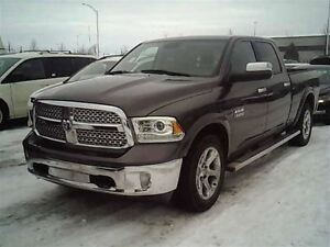 2015 Dodge Ram 1500 LARAMIE, CREW CAB, 4X4 ECO-DIESEL WITH NAV
