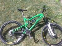 Santa Cruz Nomad bike