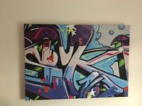 Next graffiti canvas
