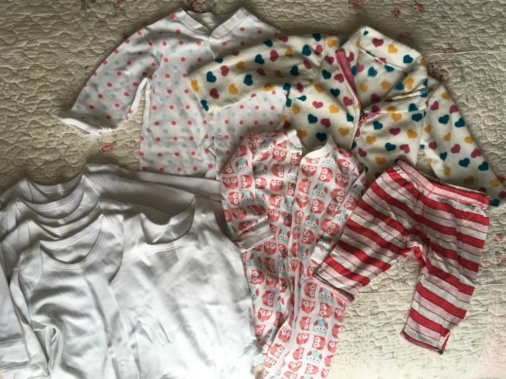 4cac863e 9-12 months baby girls clothing bundle Mothercare and M&S | in ...