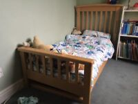 Wooden Toddler Bed/Cot (Mothercare)
