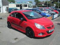 VAUXHAII CORSA VXR IN BRIGHT RED 2010