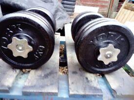 Dumbbells 2 x 32 kg