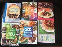 Weight Watchers cookbooks & calculator bundle