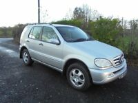 05 MERCEDES ML270, 2 OWNERS FROM NEW, FSH!!!