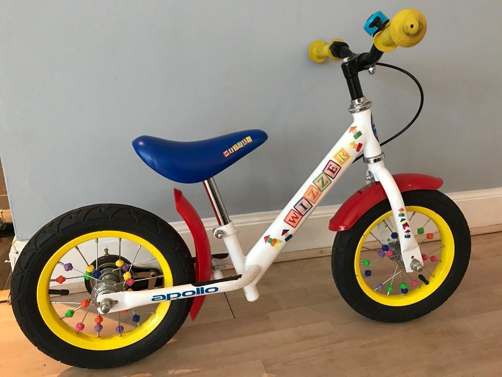 Kids Balance Bike Apollo Wizzer 12 inch