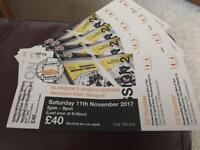 One (1) glasgow whisky festival ticket for sale