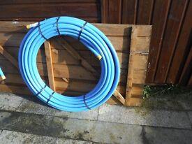 MDPE BLUE UNDERWATER PIPE 25MMX50M
