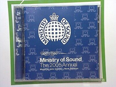 Ministry of SoundAnnual 2005 (Mixed By Mark Dynamix & John Course) 2CD Nr Mint