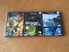 Tom Clancy Nintendo GameCube games bundle