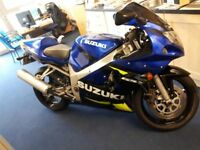 SUZUKI GSXR 600 K1, NICE CLEAN CONDITION, NEW MOT