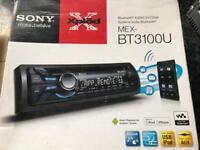 Sony MEX-BT3100U Car Stereo ( Bluetooth, iPod Control:iPod Plug-In only, )