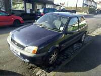 Ford fiesta 2001 - cheap and cheerful