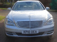 MERCEDES-BENZ S CLASS 3.0 S350 CDI BLUEEFFICIENCY 4d AUTO 235 BHP ++ NAVIGATION SYSTEM