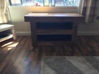 Solid oak tv stand needs gone ASAP