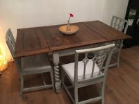 Wooden folding dining table - needs to go!