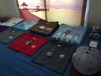 Mens Designer T Shirts & Polo's + Hats