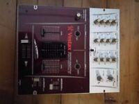 Very rare Vestax Pmc 05 Pro Samurai Original DJ Mixer