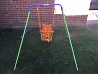 Children swing up to 3 years old.