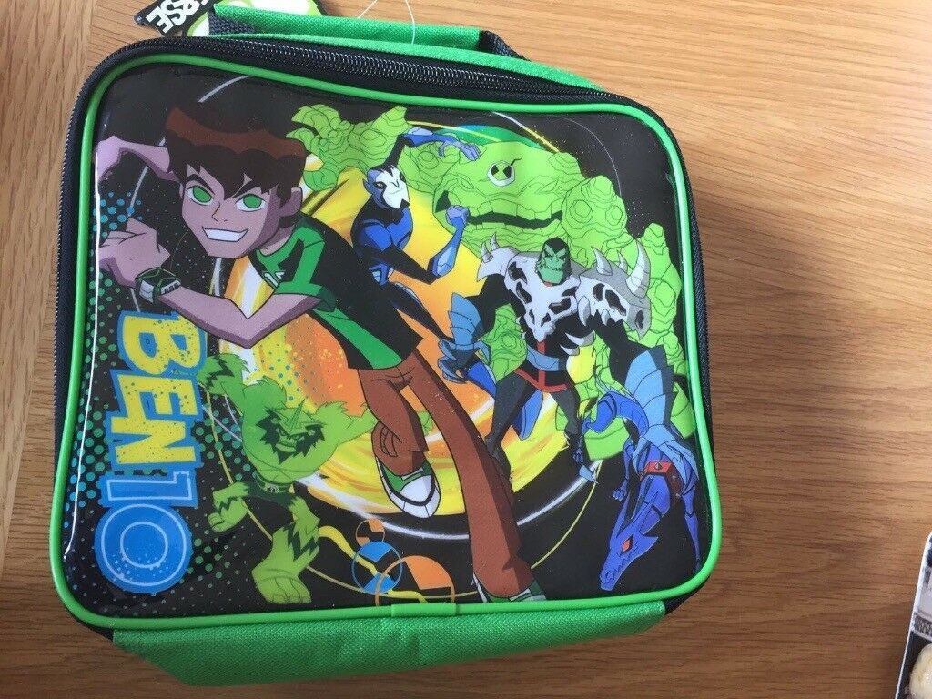 Ben 10 lunch bag