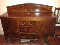 sideboard, very old. nice condition.