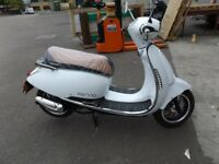 VIENNA 50 SCOOTER Brand new, just registered. Showroom display model clearance.