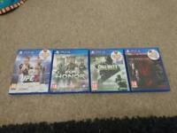 PS4 GAMES BUNDLE UFC FOR HONOR CALL OF DUTY + METAL GEAR SOLID