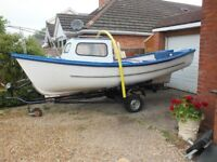 16.5 ft Oyster/ Plymouth Pilot style fishing/leisure boat