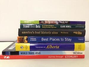 Travel Related Books - Great Selection - All Brand New