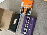 Individual or Together. Cry Baby Wah, Boss DS-2 & Line 6 FM4