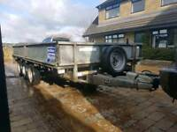 Ifor Williams LM146G Tri axel trailer