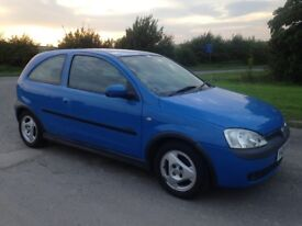 2001 Vauxhall Corsa 1.2 SXI Immaculate