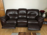 """3 Seater """"Electric"""" double recliner sofa"""