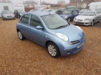 Nissan Micra 1.4 16v SVE 5dr. PART SERVICE HISTORY. AUTOMATIC. GENUINE LOW MILEAGE. CLEAN INSIDE