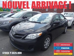 2013 Toyota Corolla CE+SIEGES CHAUFFANTS+A/C+POWER GROUPE+++