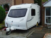 SPRITE ALPINE (2) 2 BERTH CARAVAN 2007 MOTOR MOVER AND OTHER EXTRAS