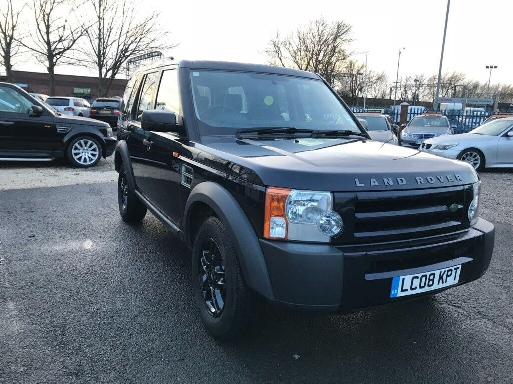 2008 Land Rover Discovery 3 2.7 TD V6 GS 5dr 1 PREV OWNER+7SEAT+