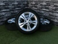 Mercedes C Class W205 S205 17 Inch Alloy Wheels 2017