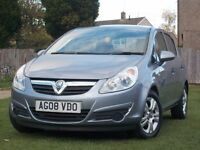 VAUXHALL CORSA 1.2 LOW MILEAGE 24,000 ONLY! IMMACLULATE CONDITON 12 MONTH M.O.T WITH SERVICE HISTORY