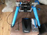 Taxc turbo trainer with spare taxc tyre