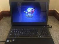 Asus Rog Republic of Gamers core i7 laptop
