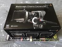 Blackmagic Cinema Camera 2.5 K (MTF Mout) + 240 GB SSD Drive